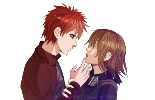 Mistério resolvido: quem é a mãe do Shinki?   Naruto ... Gaara And Matsuri Kiss