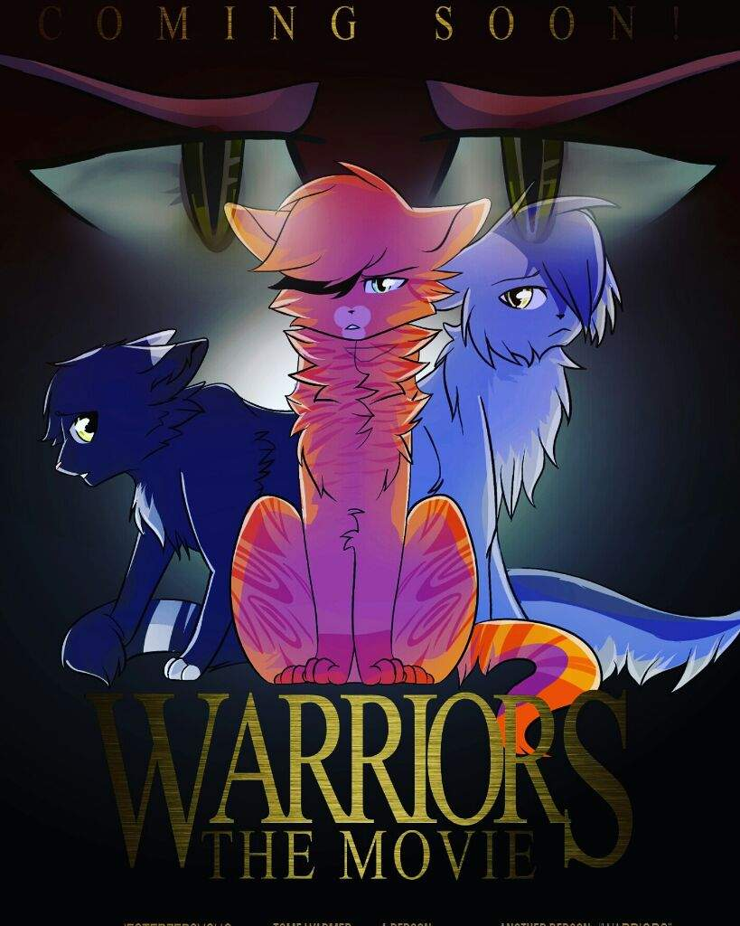Warriors movie poster cats