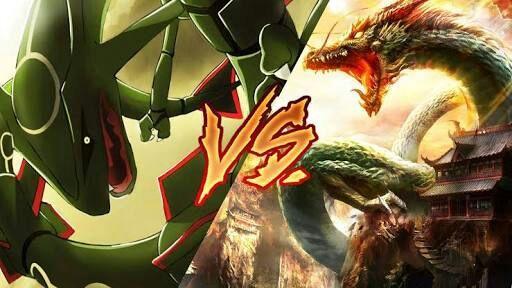 Shenron vs Rayquaza who will win   Pokémon Amino