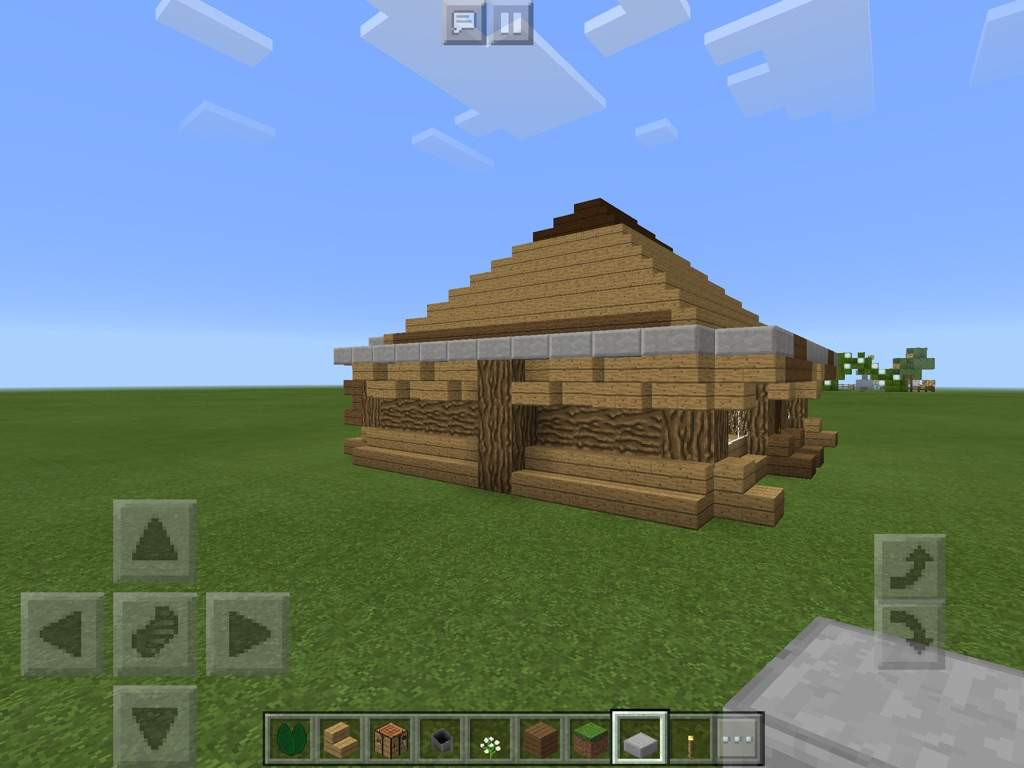 Really cool houses 2 log cabin minecraft amino for Really cool houses