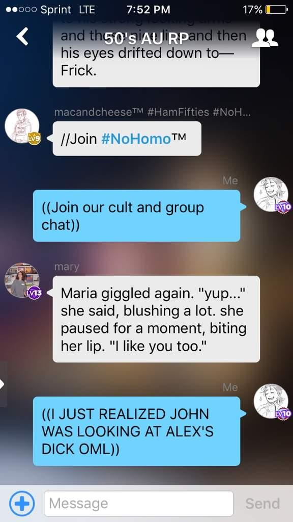 homo chat