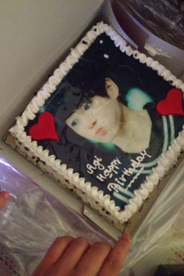 Jungkook Birthday Cake