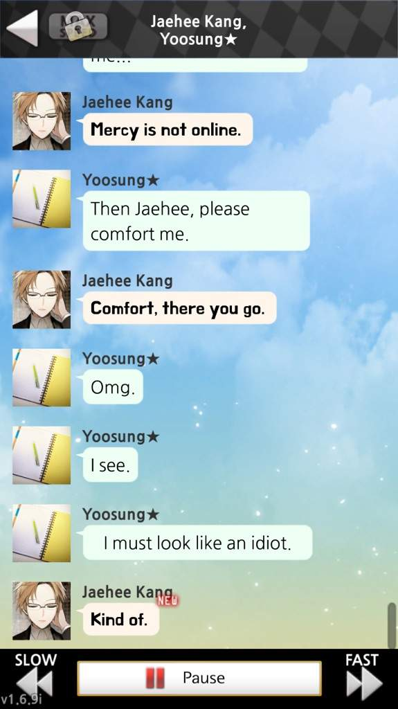 Favorite Chat Room Moments Mystic Messenger Amino