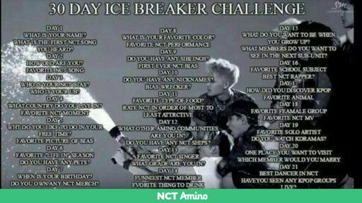 ICE BREAKER CHALLENGE | NCT (엔시티) Amino