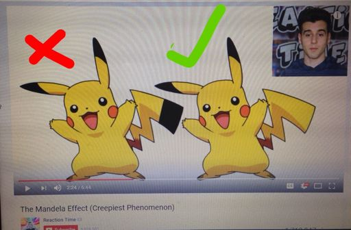 Mandela Effect: Black-Tipped Pikachu Tail?   Pokémon Amino
