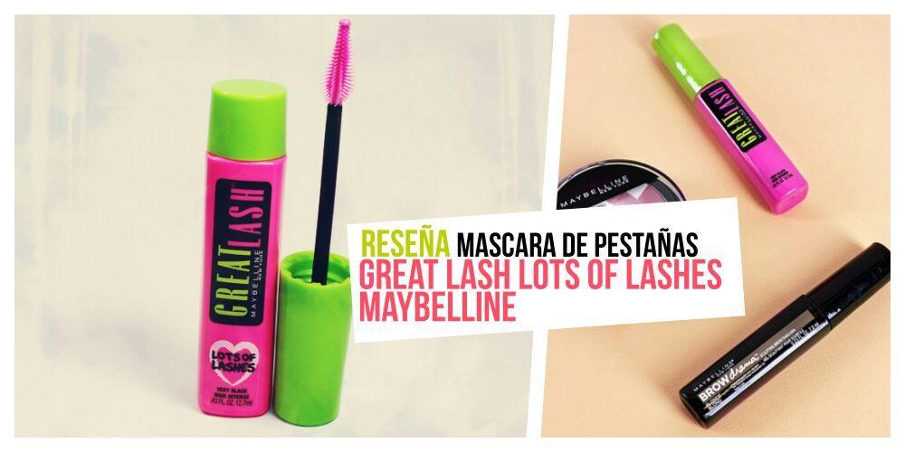 1651c308536 Reseña] Rimmel de Pestañas GREAT LOST OF LASHES maybelline | Moda ...