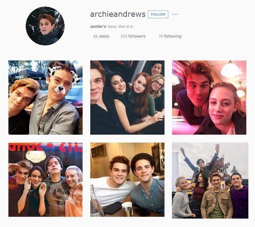 Riverdale Characters: If Riverdale Characters Had Instagram