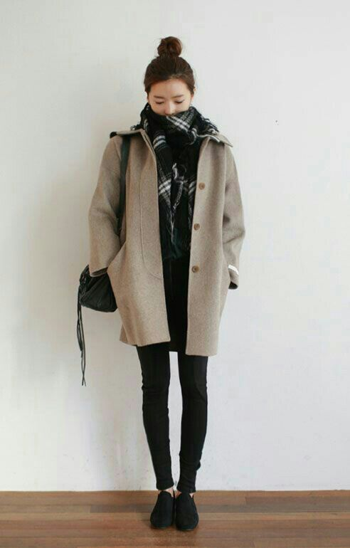 Winter Outfit Inspiration Korean Fashion Amino