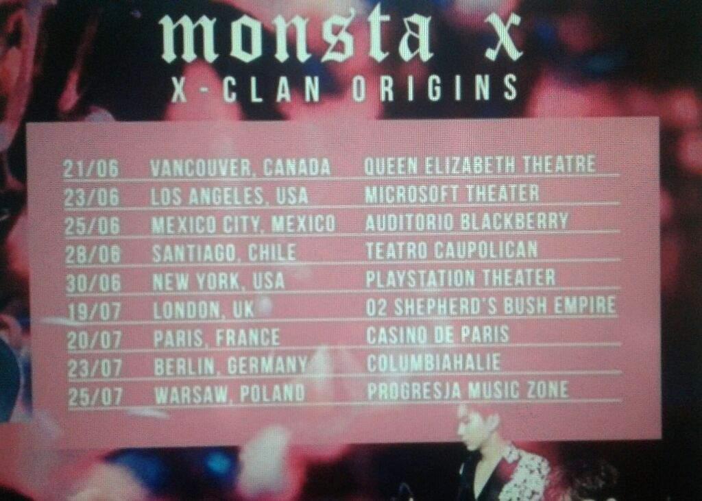 First World Tour Monsta X