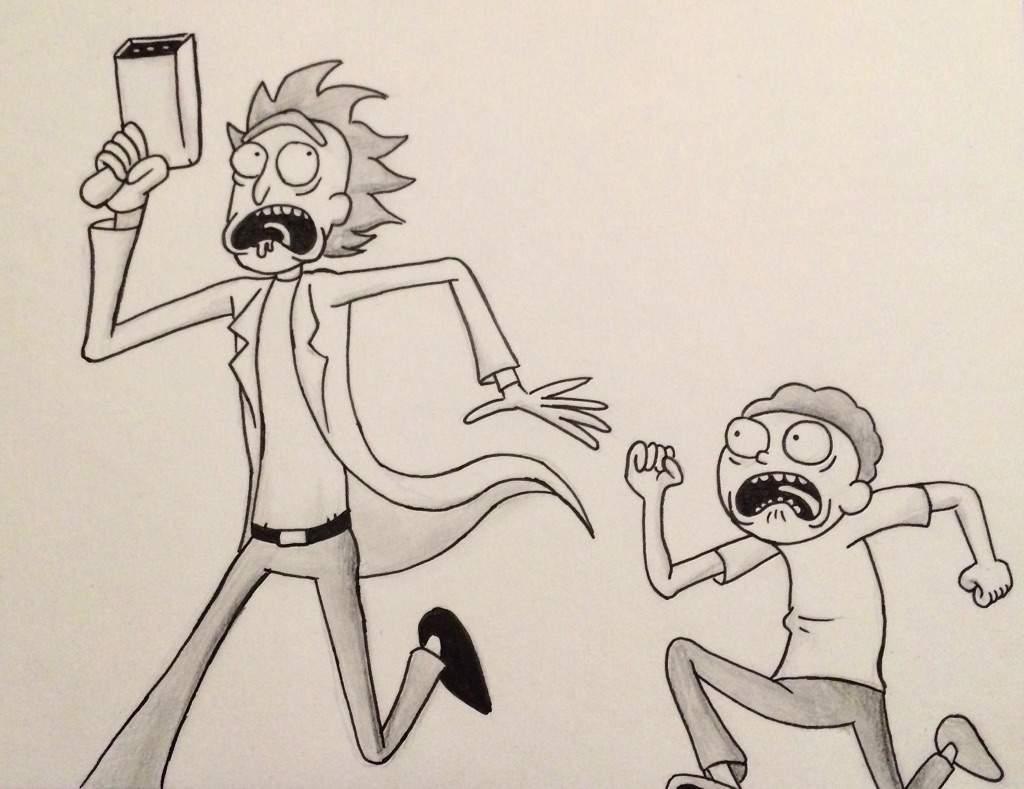 Rick Amp Morty Art