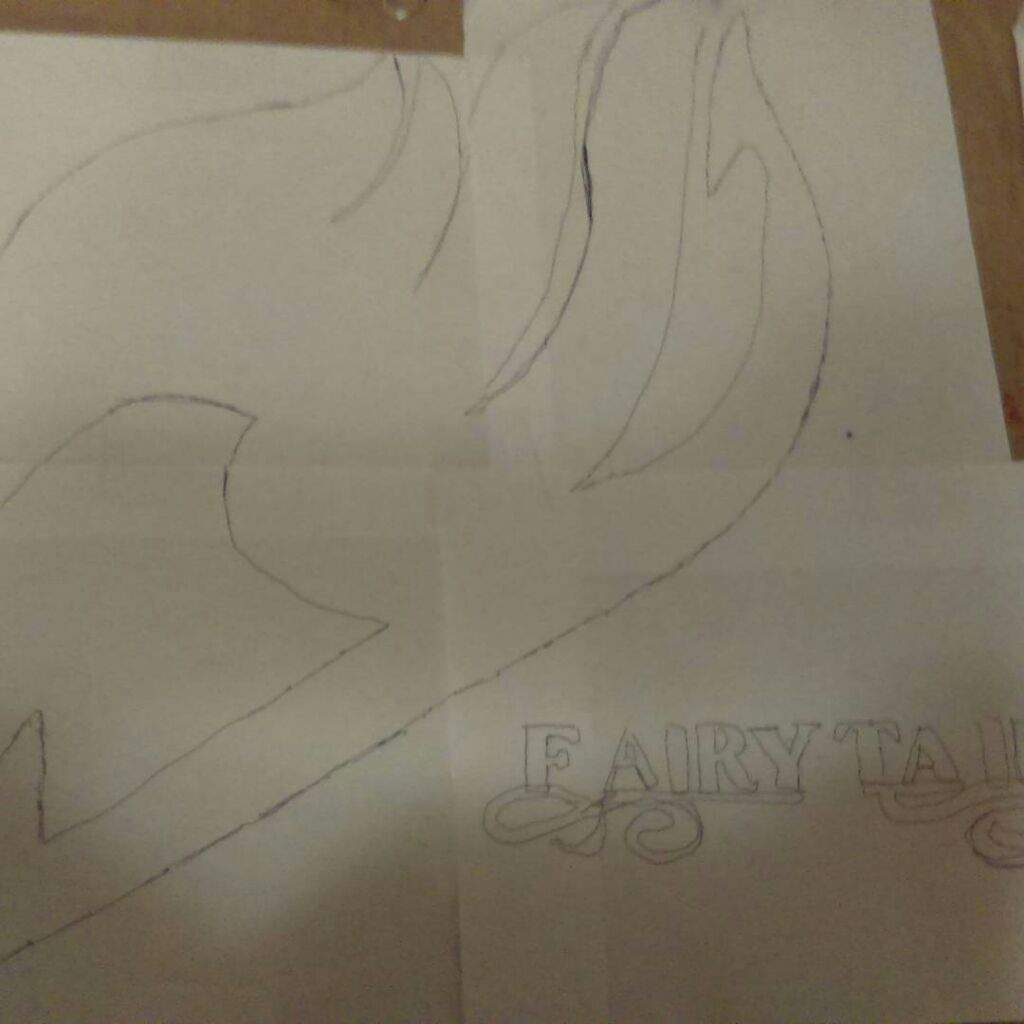 I drew the fairy tail emblem fairy tail amino ok so my cuz b day is coming up and he said to draw him a anime symbol and i said what kind and he said fairy tail so i drew it big buycottarizona Gallery