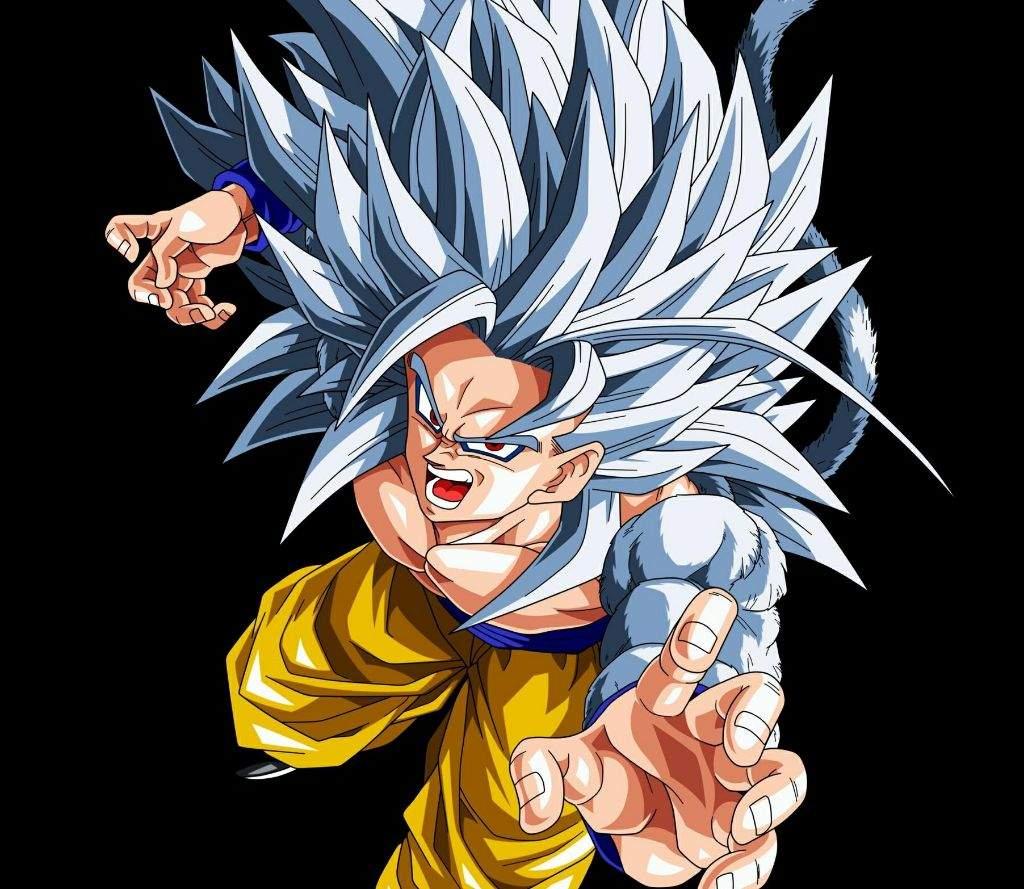Super saiyan 5 dbaf dragonballz amino - Goku super sayan 5 ...