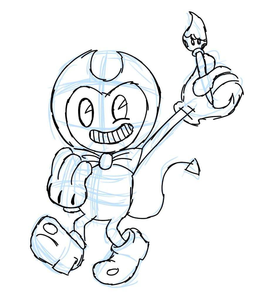 How to draw bendy bendy and the ink machine amino for Bendy and the ink machine coloring pages