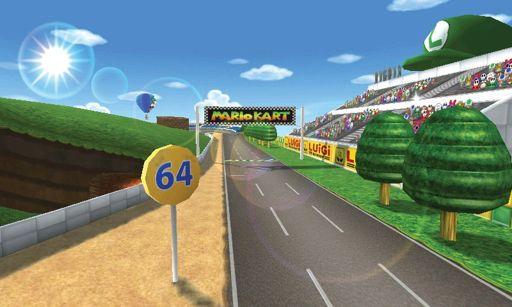 Luigi Raceway Wiki Mario Kart Amino