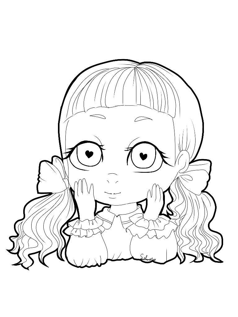 Melanie Martinez Dollhouse Coloring Pages Coloring Pages