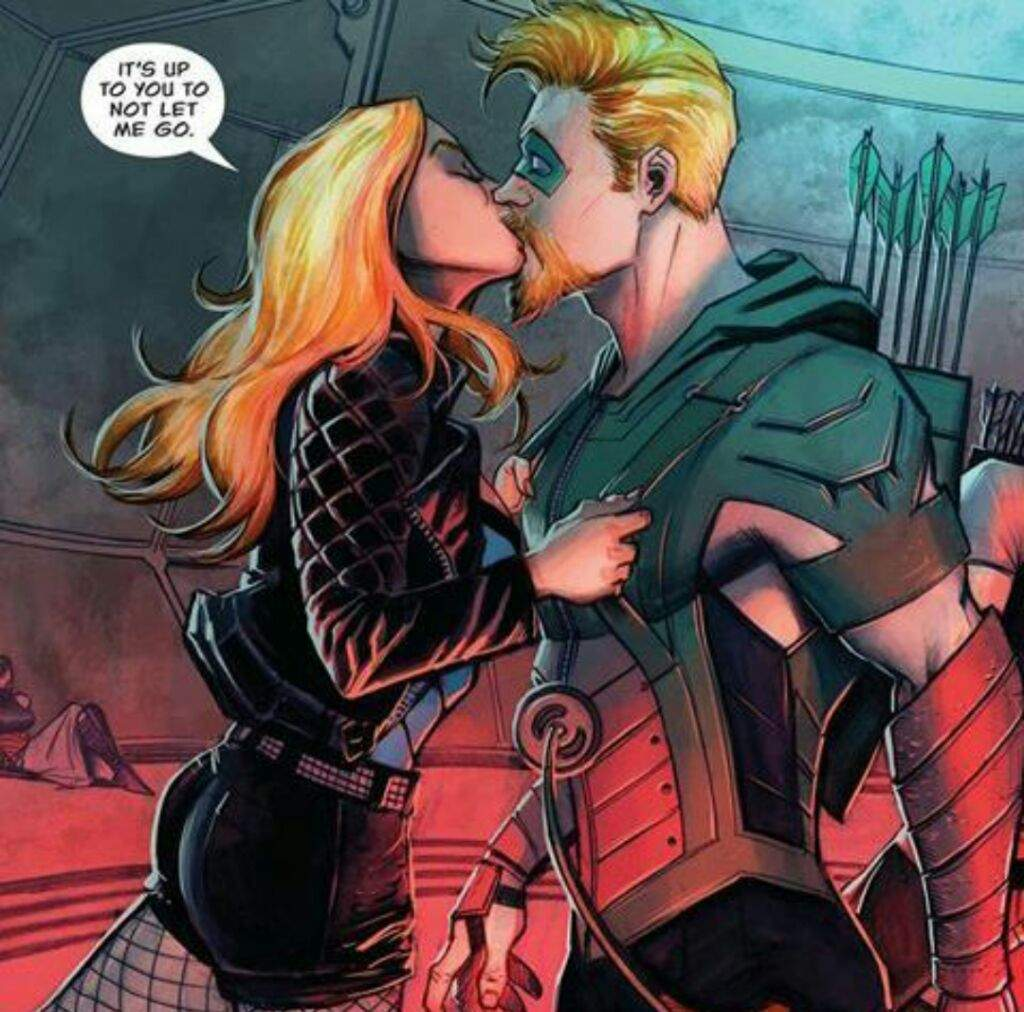 Resultado de imagen para green arrow and black canary rebirth