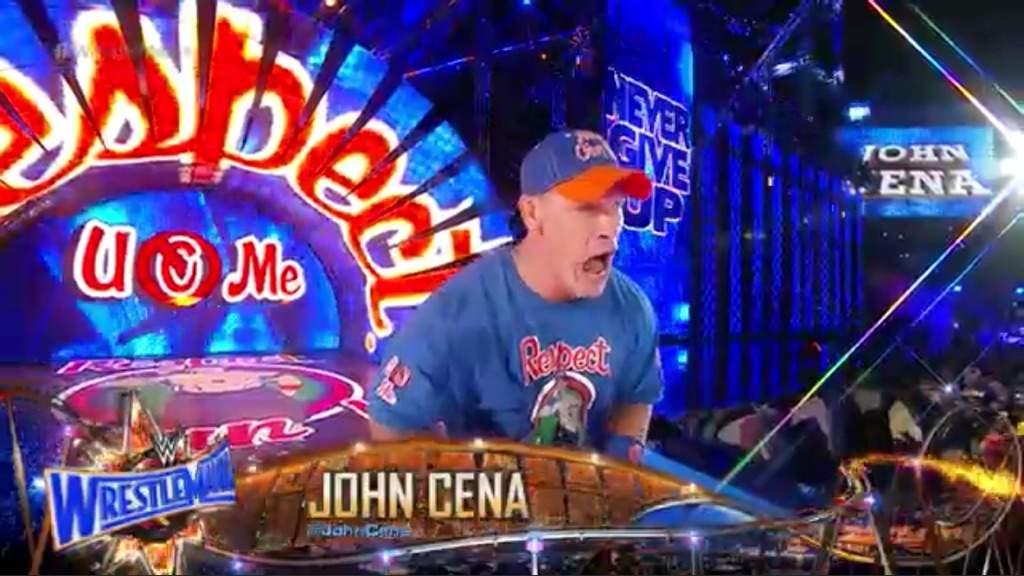 John Cena Respect Earn It Ring Entrance