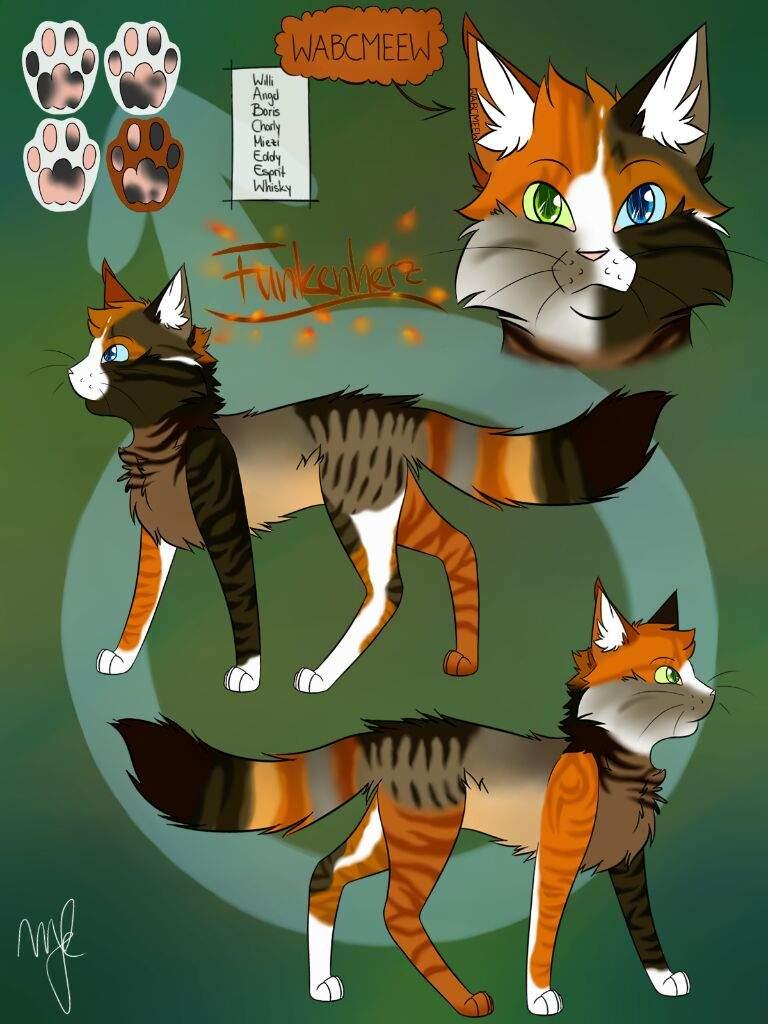 Funkenherz German Warrior Cats Amino