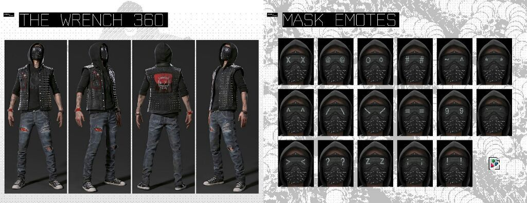 Watch Dogs  Wrench Expressions