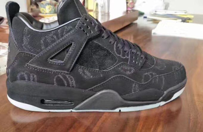 new product d91af 484c3 ♨️What if they release kaws 4s in a black colorway ...