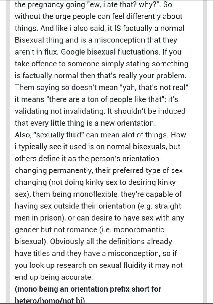 Define transitory bisexual