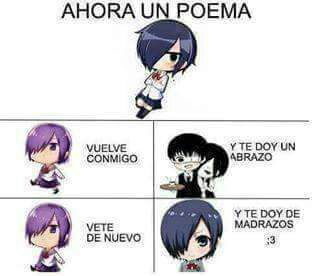 Poemas Locos De Touka Anime Amino