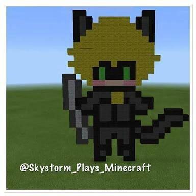 Cat Noir No Minecraft Miraculous Ladybug Amino