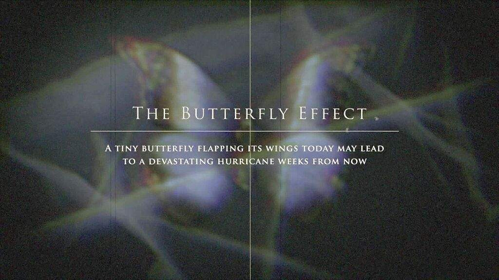 butterfly effect changes everything anime amino