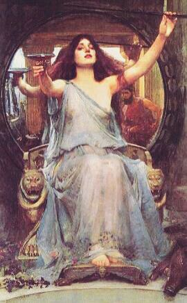 The Odyssey Circe Pagans Witches Amino