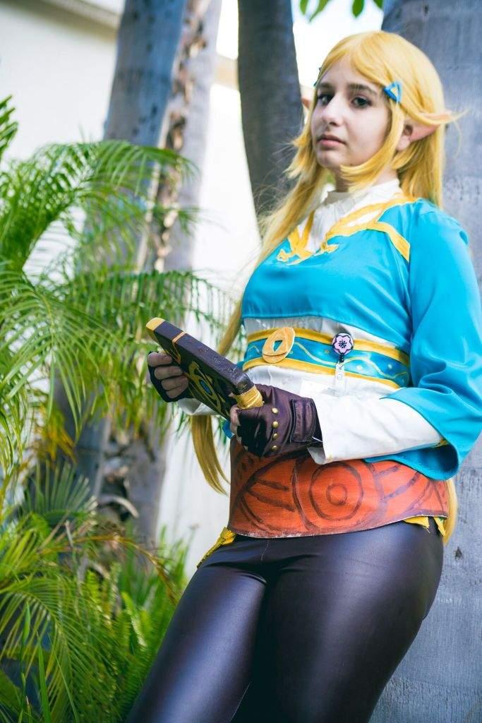 of cosplay zelda Breath wild the