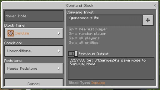 Simple commands for command blocks | Minecraft Amino