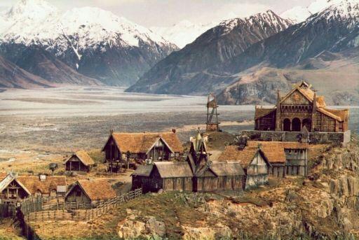 Edoras capital of rohan | Wiki | LOTR Amino