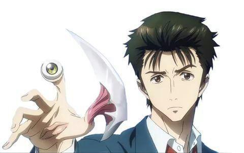 Shinichi izumi parazita