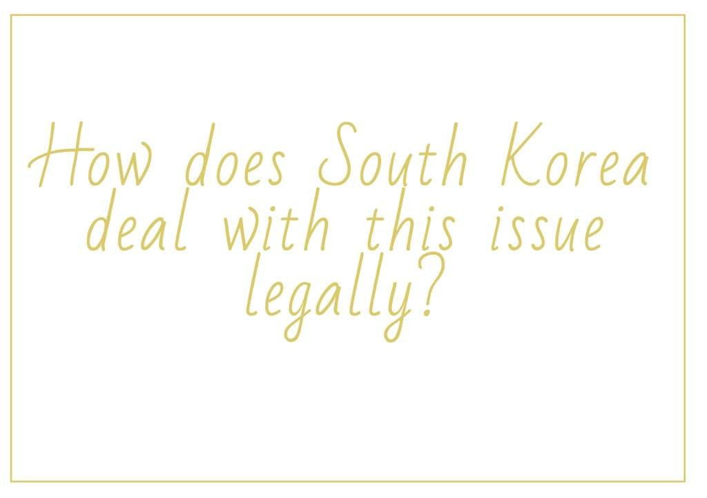 age of consent in korea