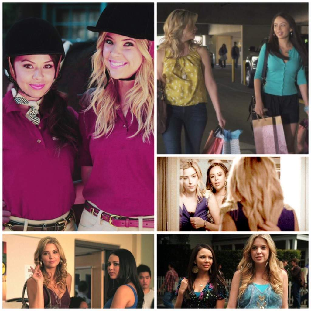 hanna and mona relationship