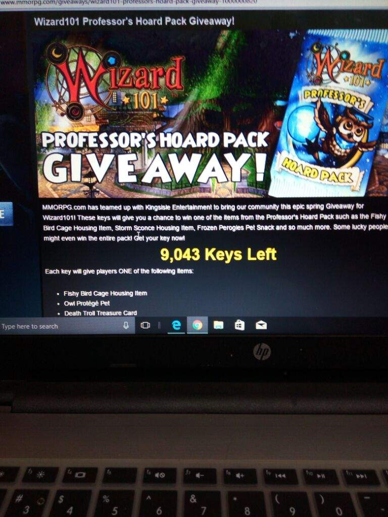 Mmorpg wizard101 giveaways