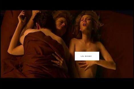 End of days threesome scene