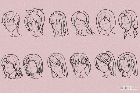 Tutorialcomo Desenhar Cabelos No Estilo Anime
