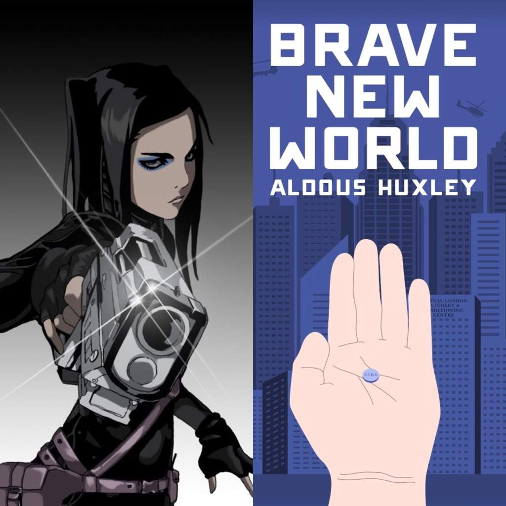 comparison of brave new world and Brave new world by: aldous huxley summary plot overview summary & analysis  when the comparison is made between the novel's world and our own, we are left with .