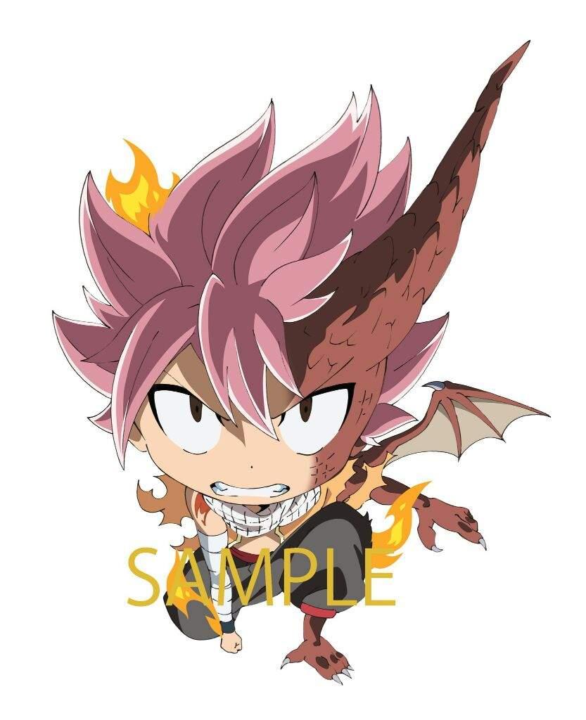 Natsu Dragonize Chibi Version Fairy Tail Amino