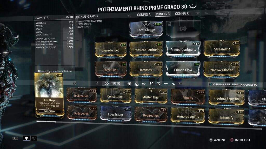 Build Tenora Warframe