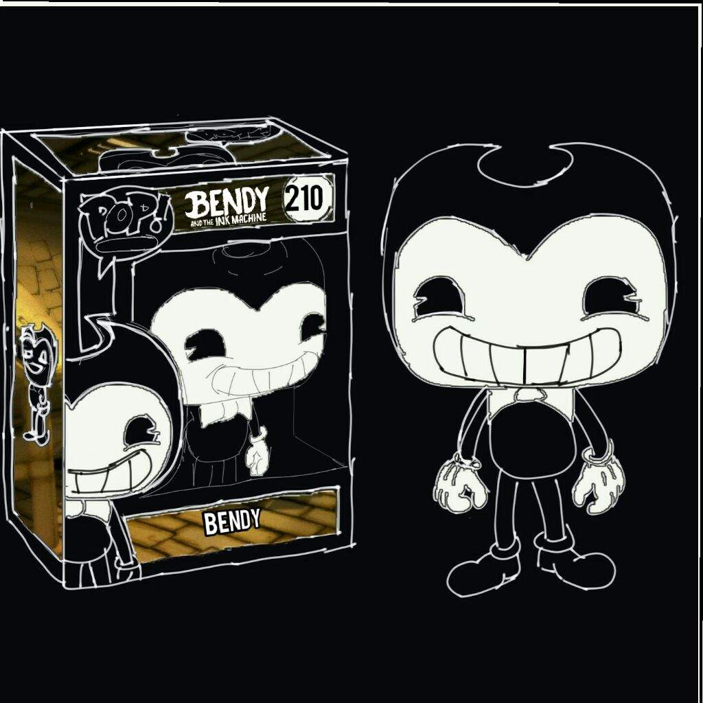 bendy and the ink machine toys