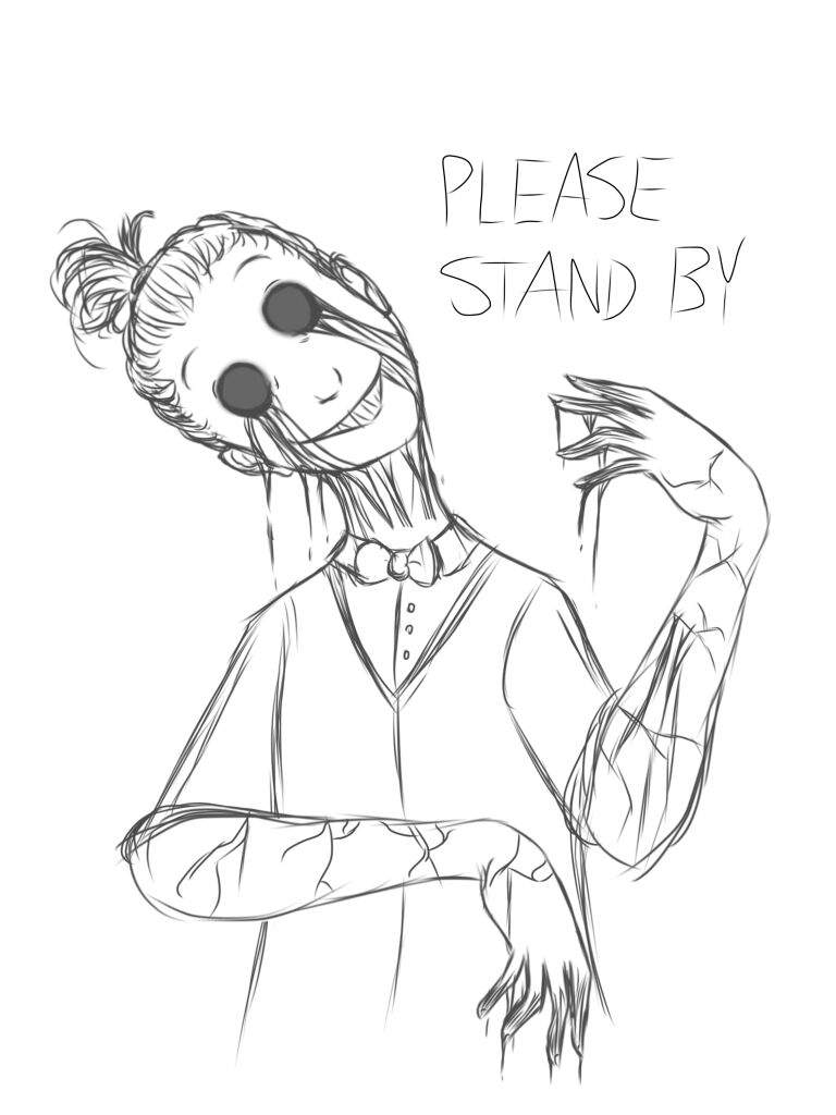 Humanized Fnaf Please Stand By Fnaf Sister Location