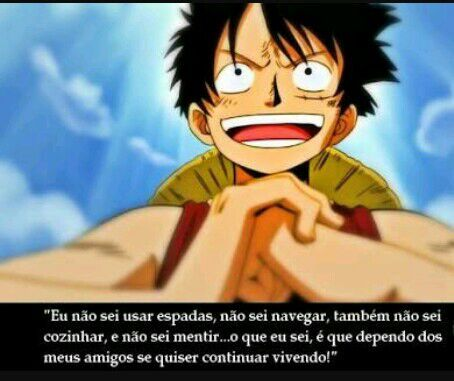 Frase Luffy One Piece Brasil Amino