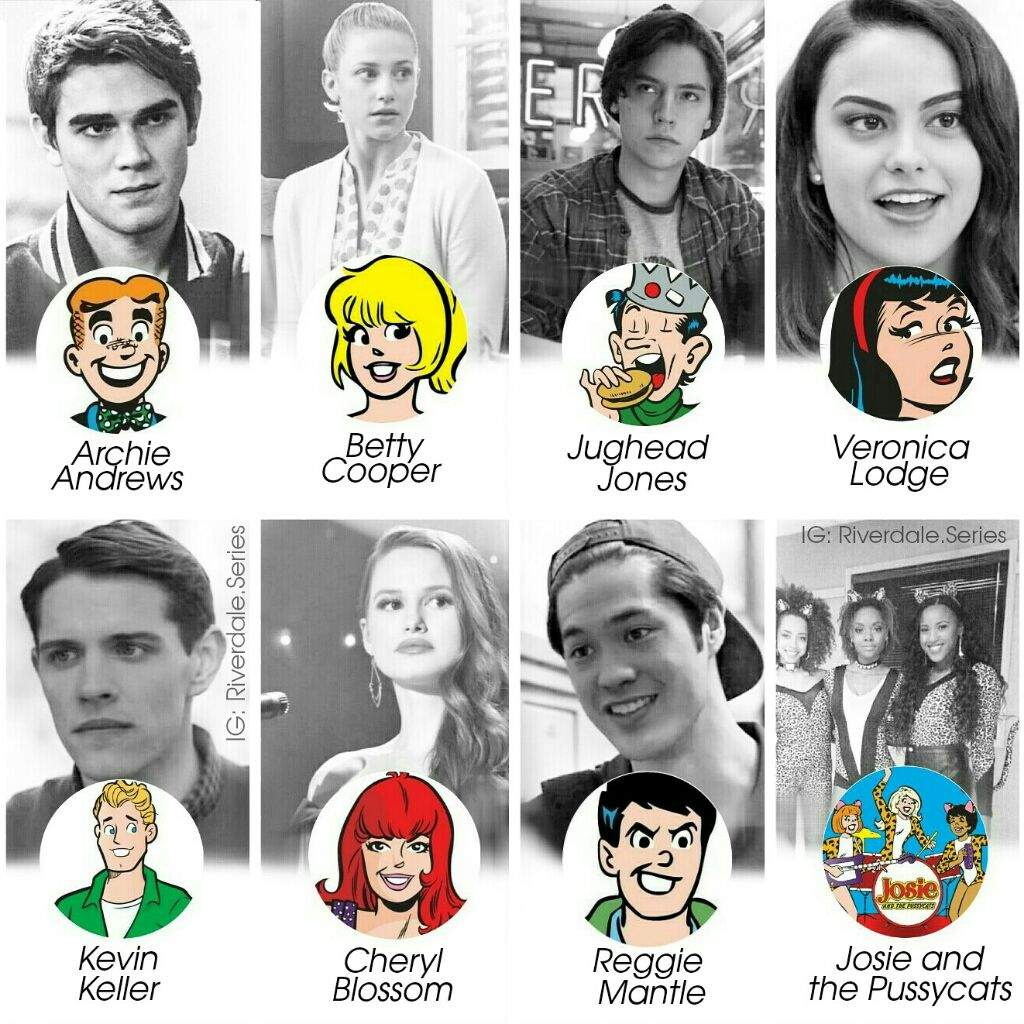 Riverdale Characters: This Is My New Edit Of Archie Comics,,,