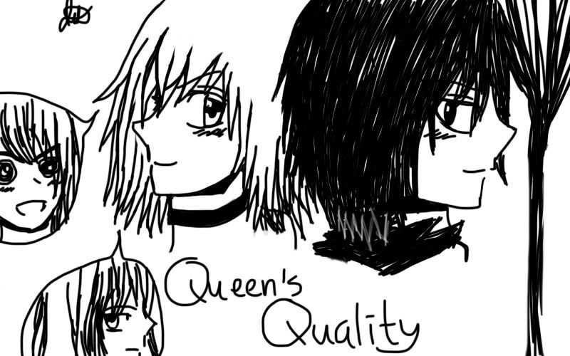 My Fanart of Queen's Quality | Manga Amino