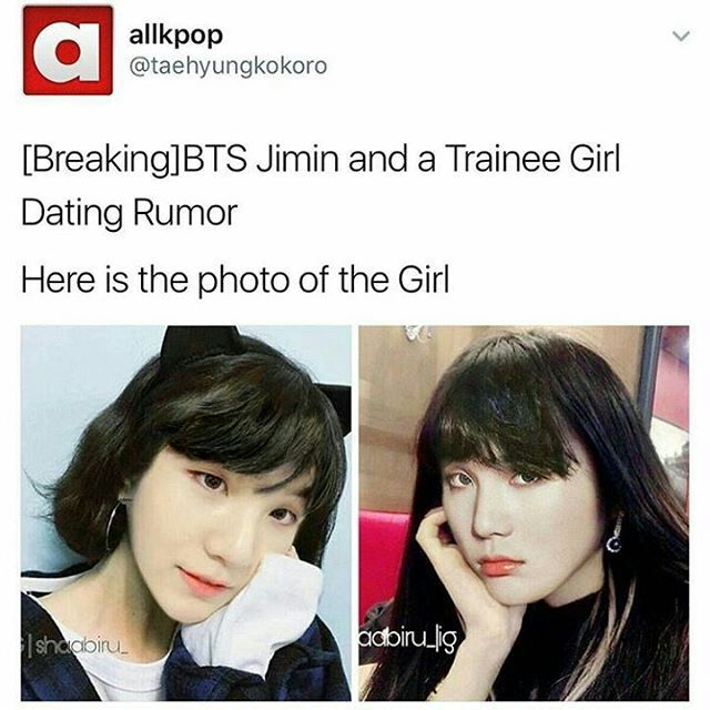 Bts jimin dating aoa