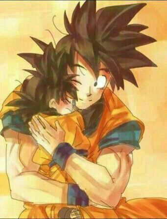 has goku ever meet his father