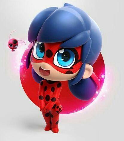 Ladybug Chat Noir Y Pixel Girl Version Chibi