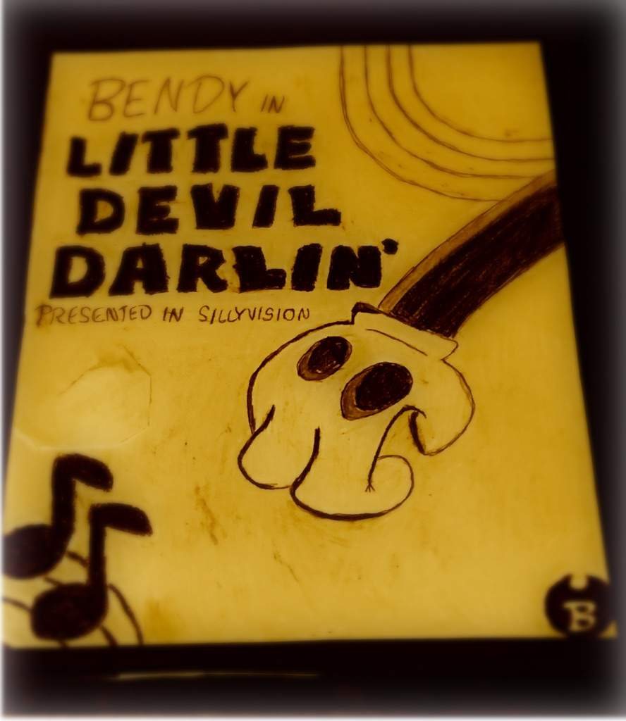 bendy and the ink machine posters